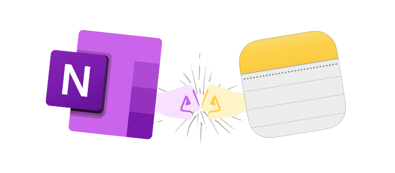 Switching from OneNote to Apple Notes